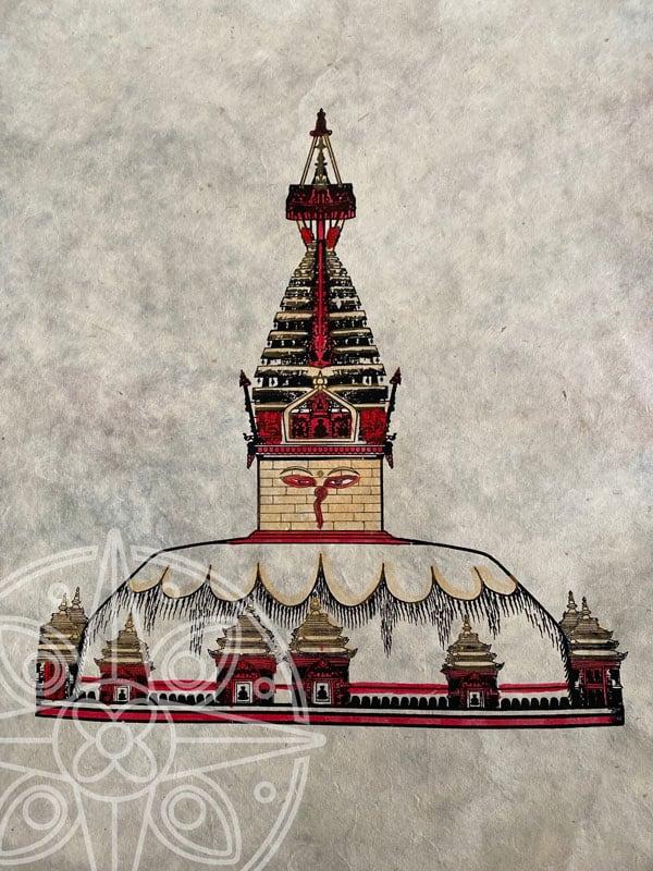 Estupa tibetana de Boudhanath