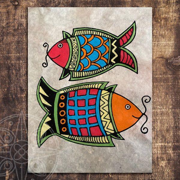4. Los peces dorados son un poderoso símbolo tibetano que representan los ojos del Buda, la longevidad y la sabiduría. Asociados a la unidad y a la fidelidad en las parejas, es frecuente recibirlos como regalo de matrimonio: seres independientes que han decidido unir sus vidas para hacer el camino juntos, en armonía (versión en rojo, negro y dorado, marca los nuevos comienzos y los augurios de prosperidad).