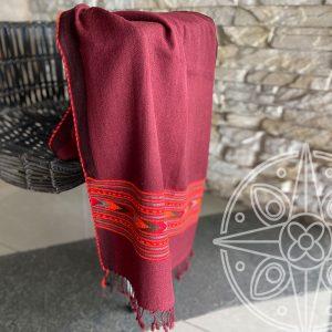 3. Shawl diseño tibetano