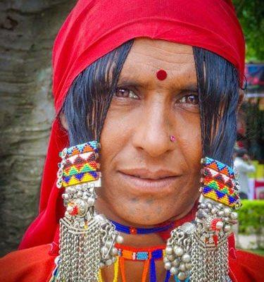 Persona autóctona de India